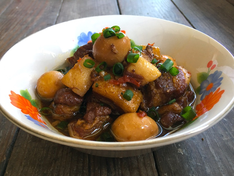 ティットコーチュン(ベトナム風豚の角煮)レシピ