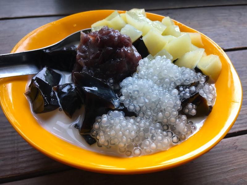 台湾風の仙草ゼリーレシピ