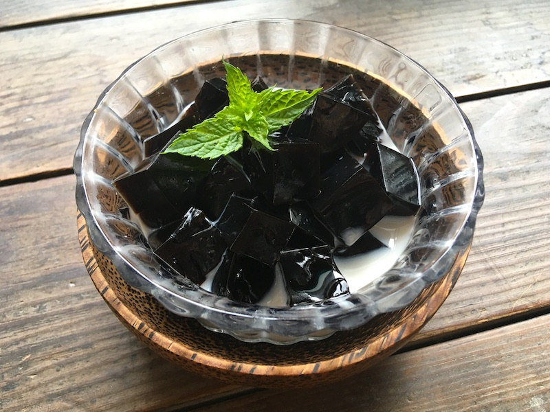ベトナム製【グラスゼリー】仙草ゼリーを作ってみました