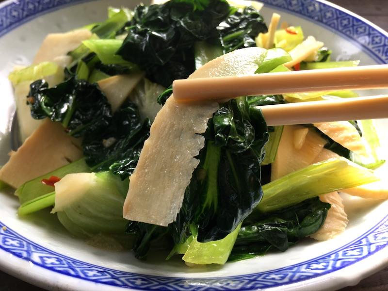 タアサイは炒め物にすると旨い!中華炒めレシピ2種類作ってみました