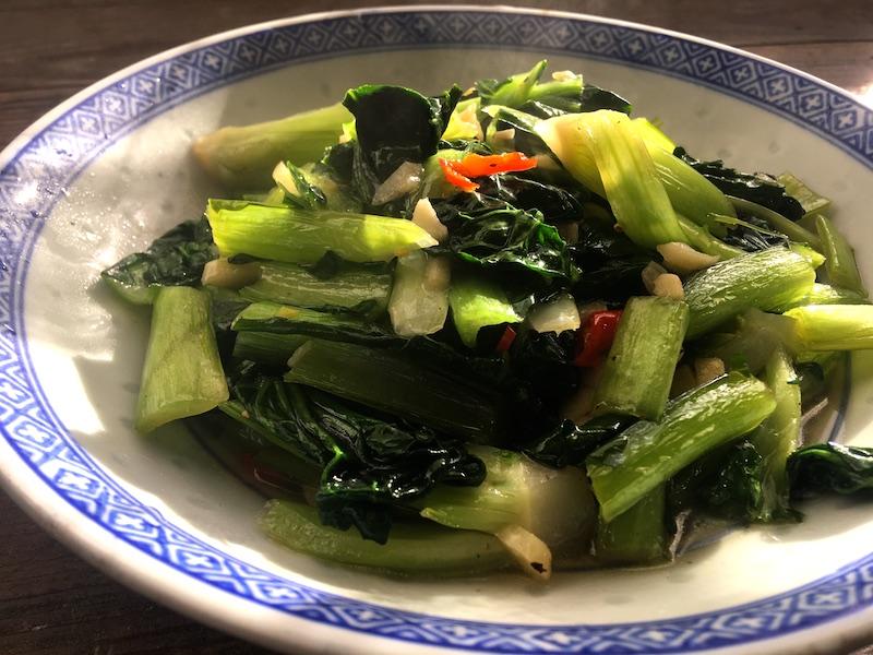 ターサイ中華炒めレシピ