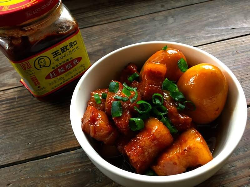 紅腐乳レシピ*中華風な豚の角煮【腐乳肉】を作ってみました