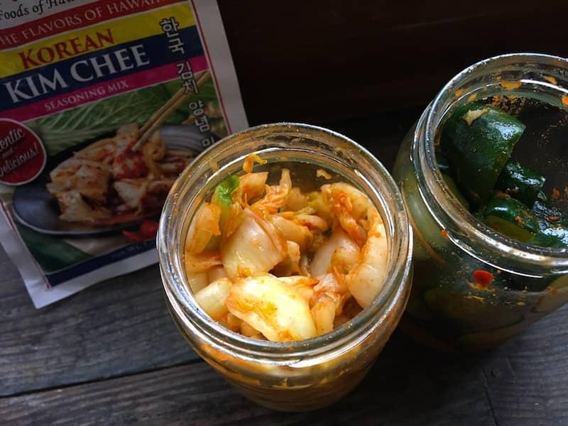 ハワイ製キムチの素で「白菜&きゅうりキムチ」を作ってみた