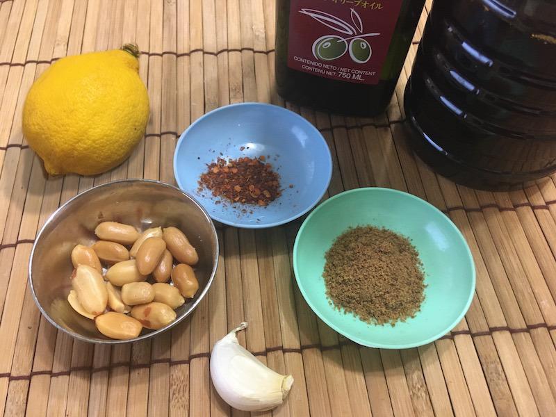 ピーナッツソースのレシピ