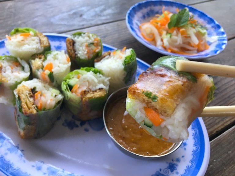 ゴイクン(ベトナム生春巻き)のベジタリアンレシピ