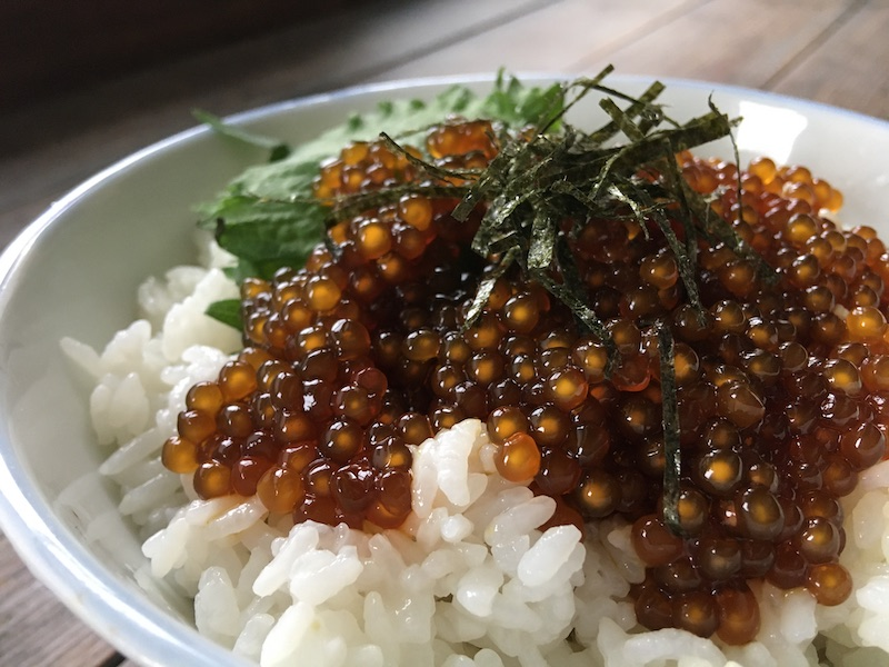 タピオカいくら丼レシピ