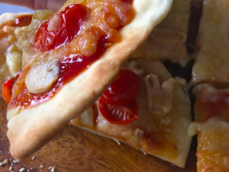 イースト菌なしのピザ生地
