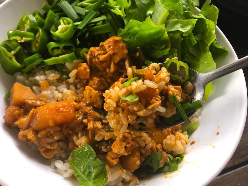 テンジャンビビンバ(味噌ビビンバ)のベジタリアンレシピ