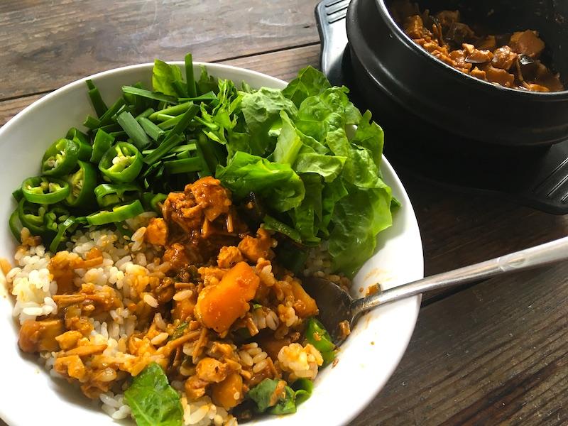テンジャンビビンバのレシピ