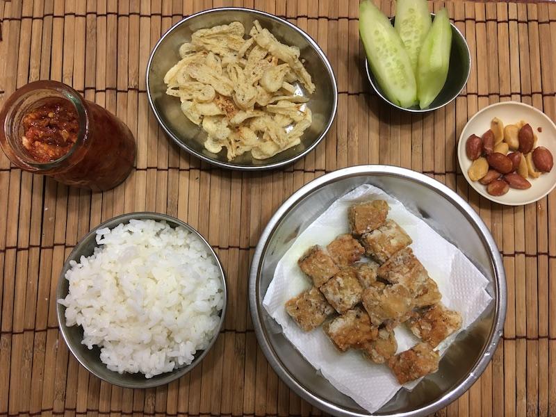 菜食ナシレマの材料