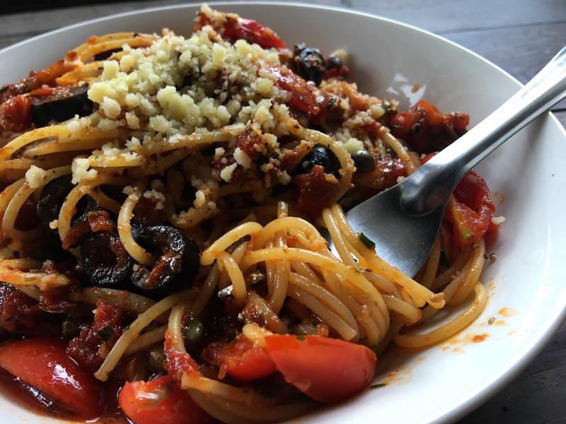 プッタネスカのベジタリアンレシピ