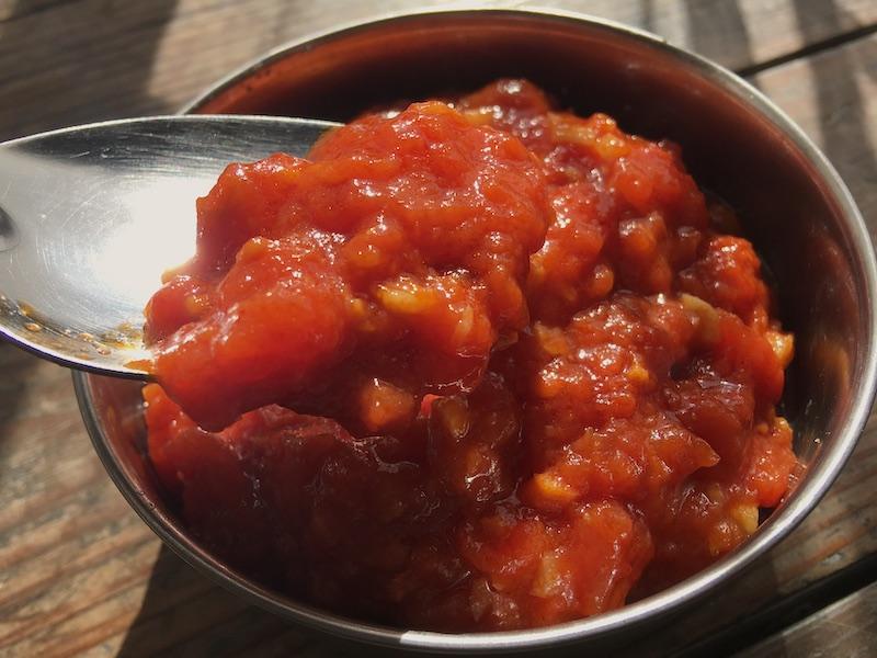トマトガーリックソース再現レシピ