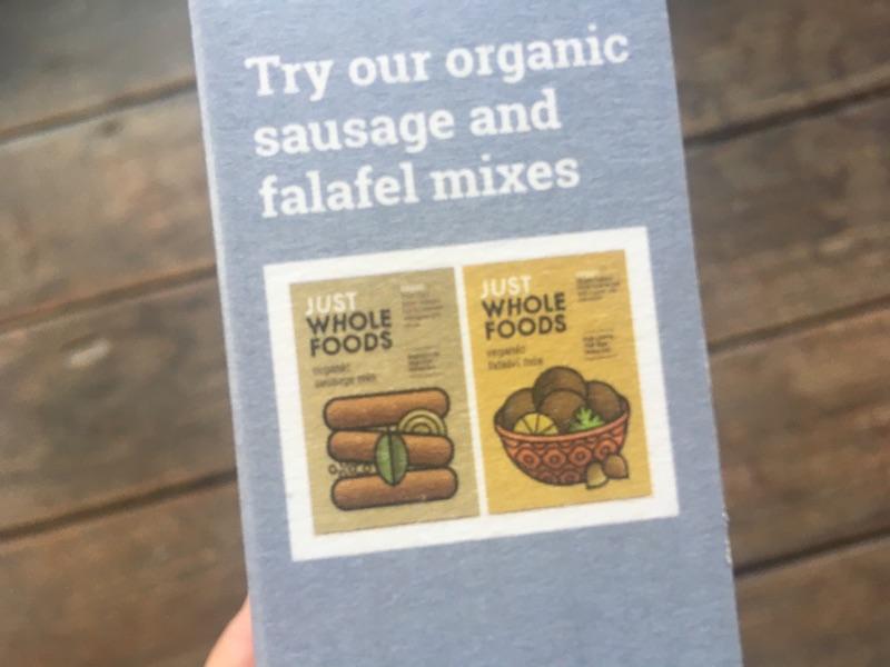 just whole foodsの製品
