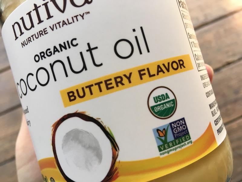 nutivaバター風味ココナッツオイル