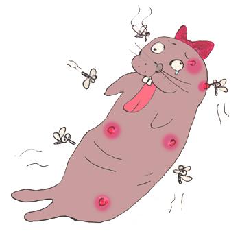 蚊に刺されやすい