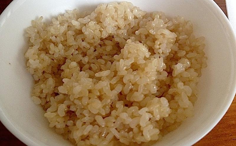 発芽玄米完成