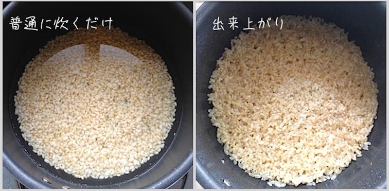 発芽玄米を炊く