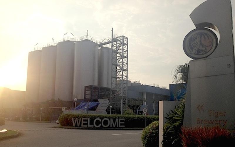 タイガービール工場見学