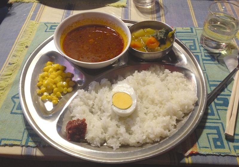 ネパール料理麦のダルバート