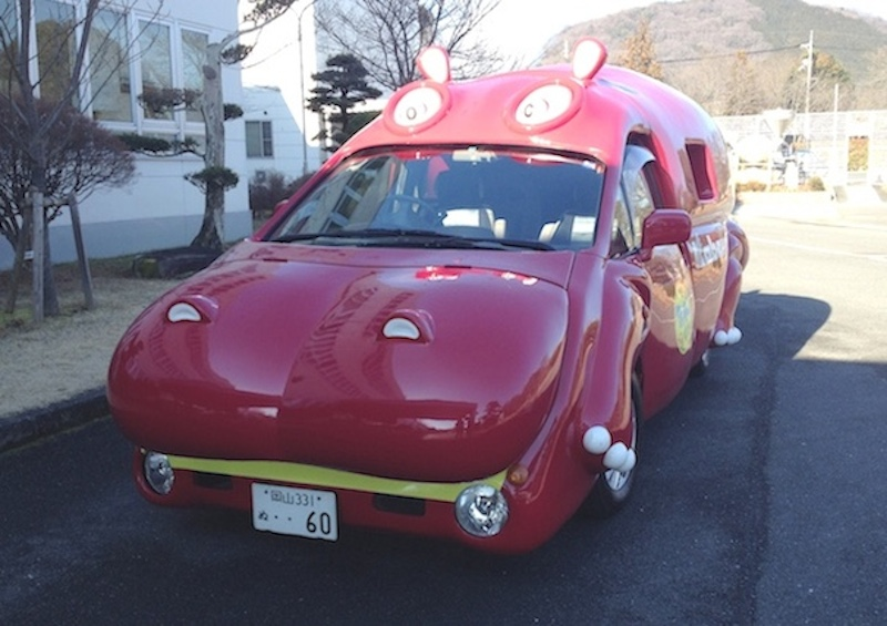 カバヤのカバ車