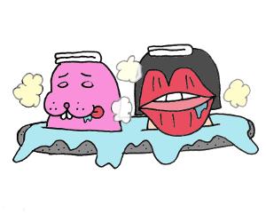 温泉トド江とくちびるげ
