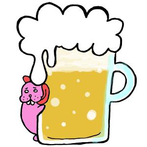 ビールとトド江