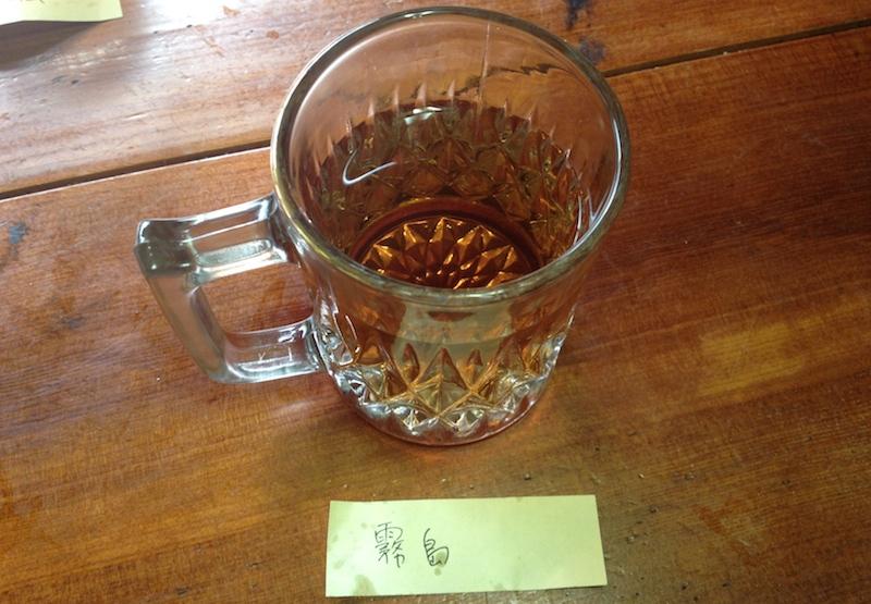 紅茶飲み比べ