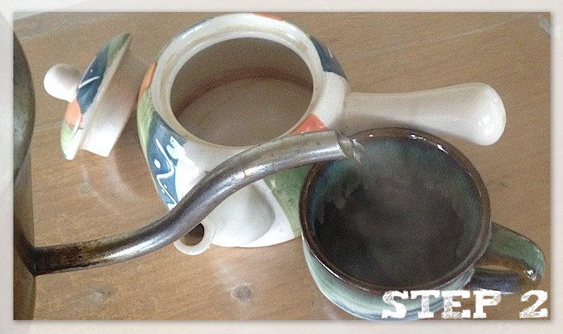 美味しい紅茶の入れ方step2