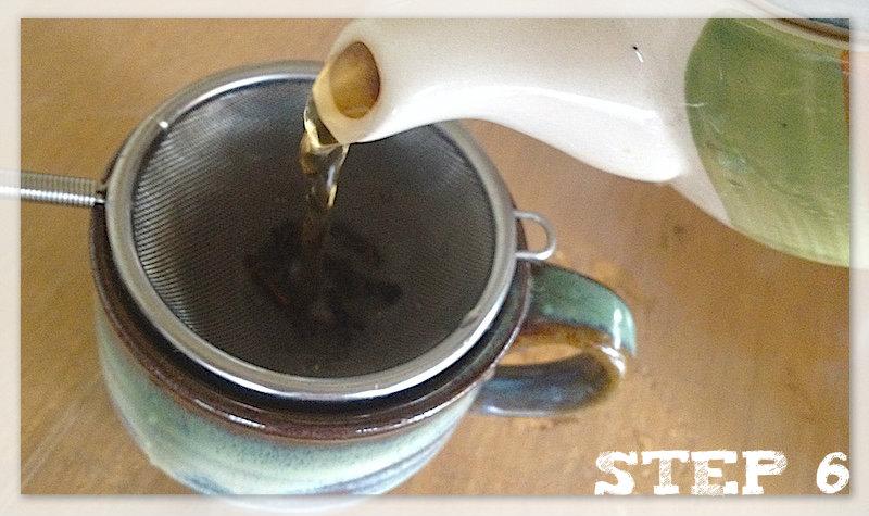 美味しい紅茶の入れ方step6