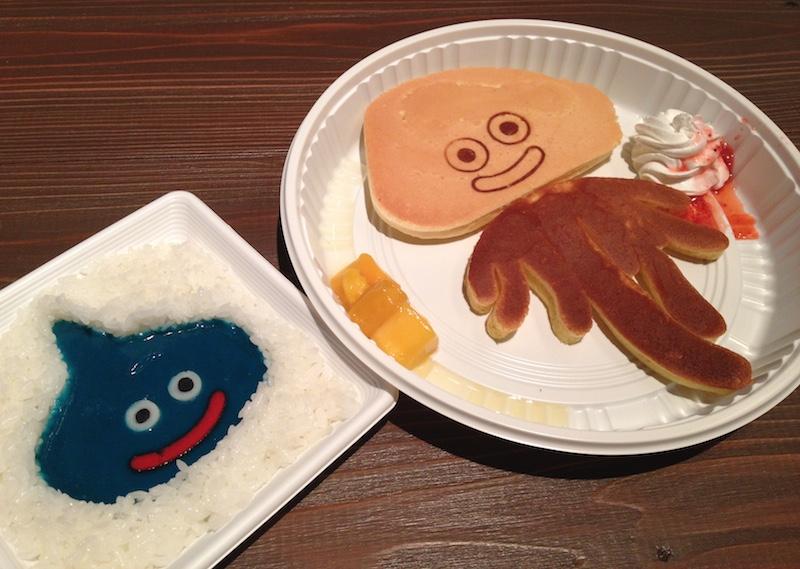 ドラクエミュージアムの食べ物