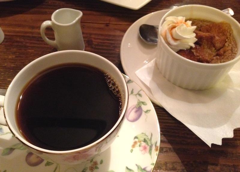 ミロンガの珈琲とディプロマットショコラ