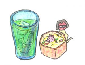 【赤羽を飲み歩く】居酒屋「琴(こと)」で大麦若葉ハイ