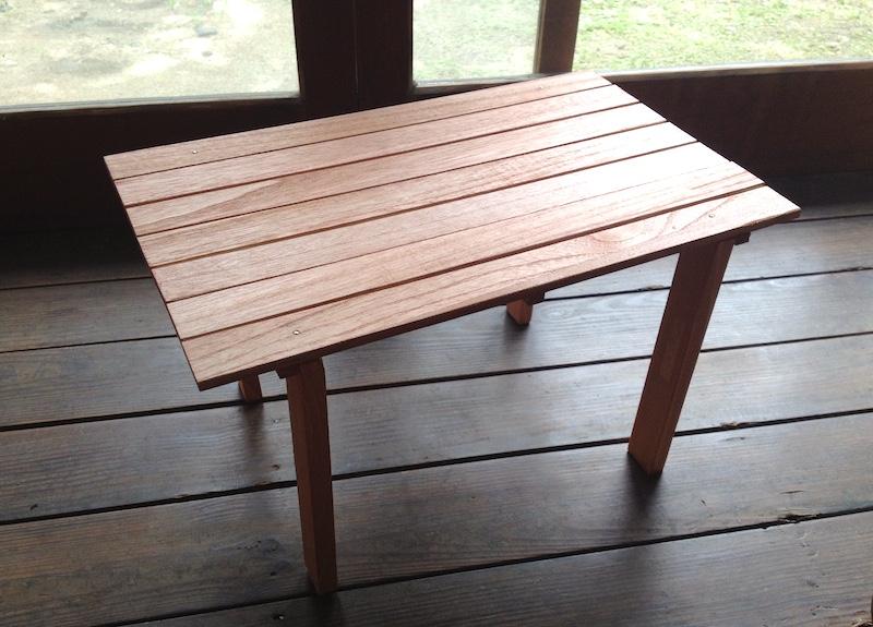 すのこミニテーブル
