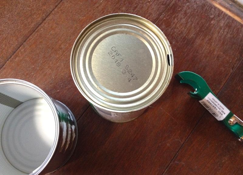 空き缶プランター作り