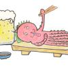 【三原の居酒屋】三原で飲むなら旨いタコ料理が食べられる「六文銭」