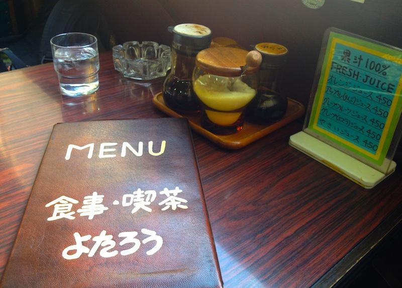 尾道の喫茶店
