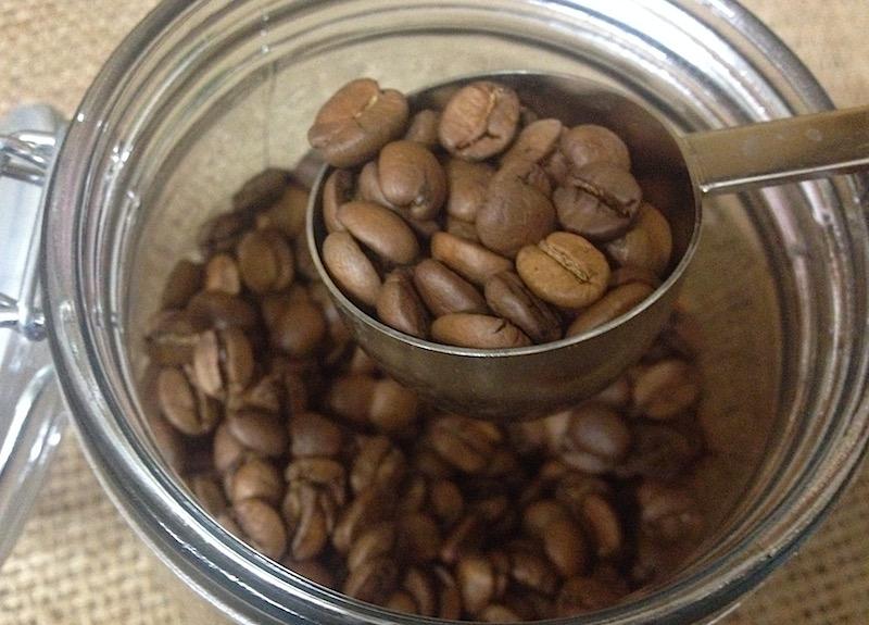 コーヒーミルの使い方1