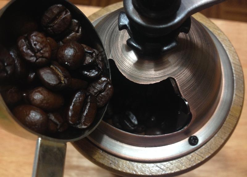 コーヒーミルの使い方2