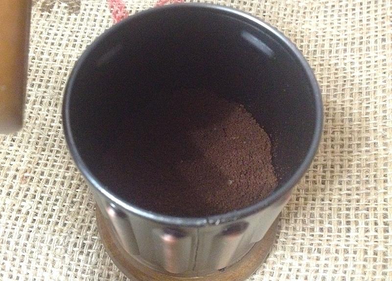 コーヒーミルの使い方5