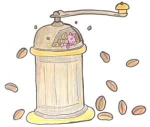 カリタ手動式コーヒーミル(KH-5)は初心者におすすめ【フタ付き】