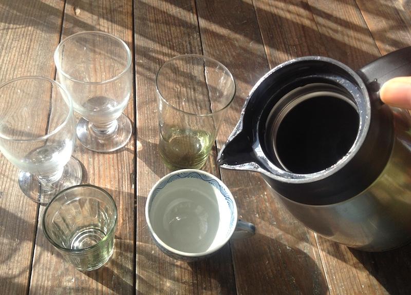 コーヒーを入れるコップ