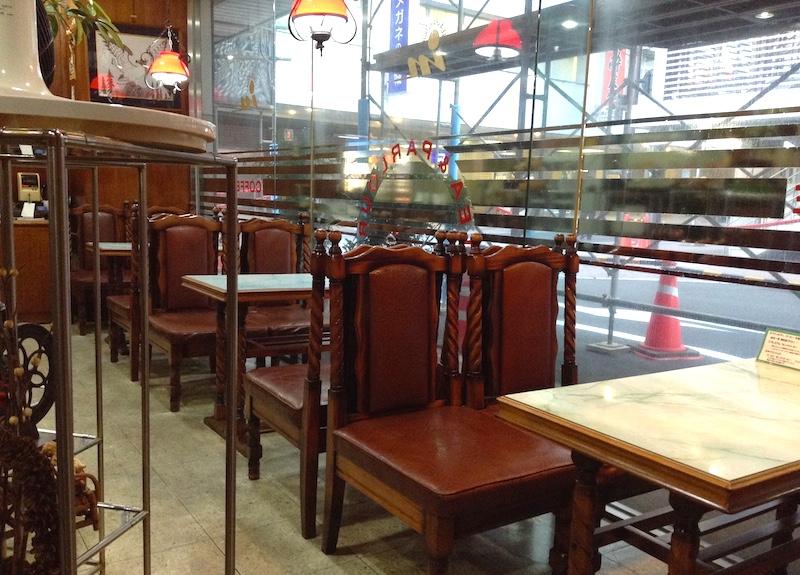 岡山の喫茶店