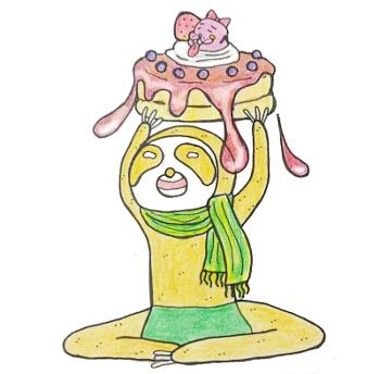 パンケーキとなま太