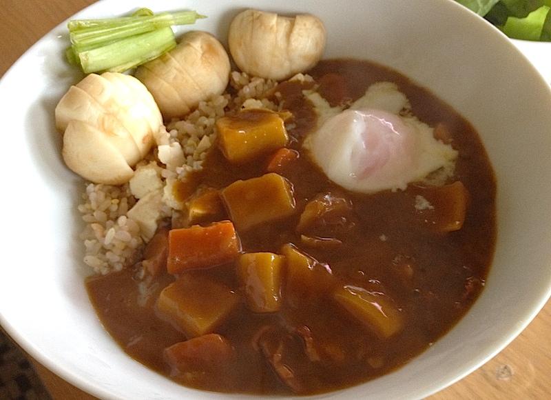 玄米カレー