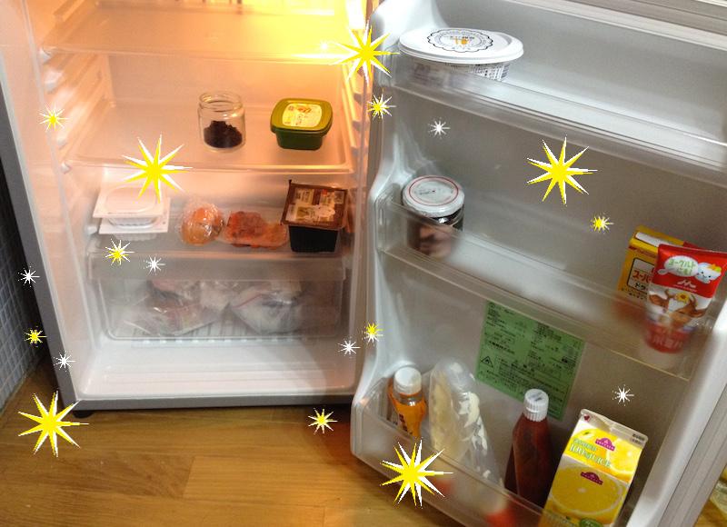 冷蔵庫の臭いが消えた