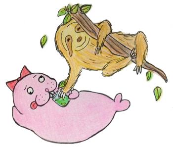 ナマケモノとトド