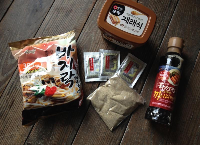 買った韓国食材