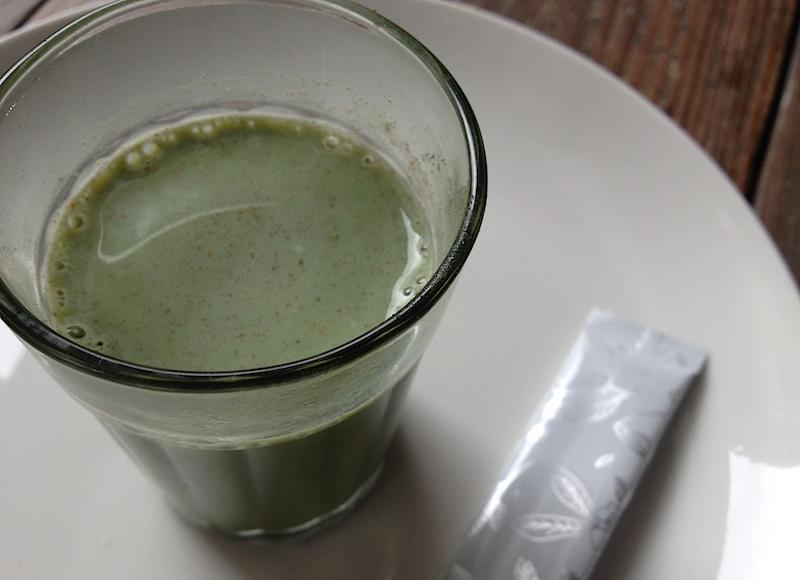 青汁(牛乳)