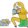 【倶知安駅からすぐ】ニセコの漫画喫茶風な喫茶店で漫画読みまくり「喫茶・陽だまり」