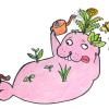【ポタジェ】ホームセンターで野菜の寄せ植えをしてきた(レモンバーム・サンチュ・マリーゴールド)